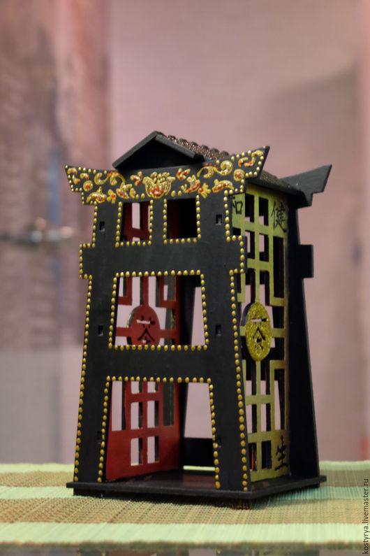 Кухня ручной работы. Ярмарка Мастеров - ручная работа. Купить Чайный домик в китайском стиле.. Handmade. Черный, китайский стиль