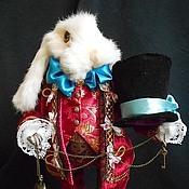"""Куклы и игрушки ручной работы. Ярмарка Мастеров - ручная работа Белый кролик из """" Алиса в стране чудес"""". Handmade."""