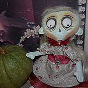 """Куклы и игрушки ручной работы. Ярмарка Мастеров - ручная работа """" Красотка Туся """".Текстильная кукла.. Handmade."""