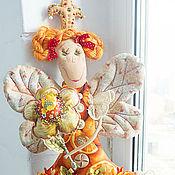 Куклы и игрушки ручной работы. Ярмарка Мастеров - ручная работа orange Дуся принцессная. Handmade.