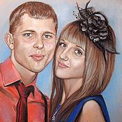 Картины и панно handmade. Livemaster - original item The order of a portrait with pastels. Handmade.