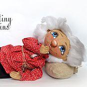 """Куклы и игрушки ручной работы. Ярмарка Мастеров - ручная работа СКИДКА! Кукла Тыквоголовка """"Домовёнок Кузя"""". Handmade."""