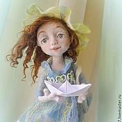 """Куклы и игрушки ручной работы. Ярмарка Мастеров - ручная работа Кукла из шерсти """"Кораблик желаний"""". Handmade."""
