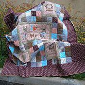 """Для дома и интерьера ручной работы. Ярмарка Мастеров - ручная работа """"Медовый месяц"""" (лоскутный комплект). Handmade."""