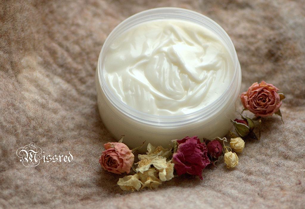 Cream, Gel & Serum handmade. Livemaster - handmade. Buy Moisturizing cream for hands and heels 'Jasmine and rose'.