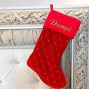Подарки к праздникам handmade. Livemaster - original item Christmas boot
