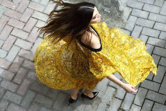 """Платья ручной работы. Ярмарка Мастеров - ручная работа. Купить Платье """"Ветер"""". Handmade. Платье, тренд"""