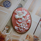 "Винтаж ручной работы. Ярмарка Мастеров - ручная работа Брошь-кулон ""Камея"", Англия, 1960-е годы. Handmade."