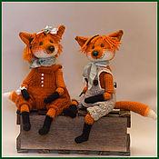 Куклы и игрушки ручной работы. Ярмарка Мастеров - ручная работа Лисички. Handmade.