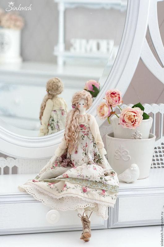 Куклы Тильды ручной работы. Ярмарка Мастеров - ручная работа. Купить Эльза. Handmade. Тильда, тильда кукла, Овечьи кудри