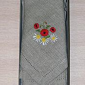 Сувениры и подарки handmade. Livemaster - original item A set of linen napkins with embroidery