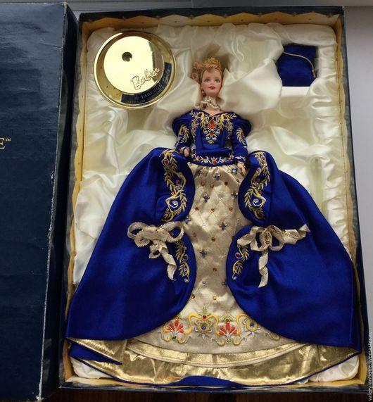 Винтажные куклы и игрушки. Ярмарка Мастеров - ручная работа. Купить Коллекционная фарфоровая кукла Барби, дома Faberge.. Handmade. барби