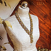 Украшения handmade. Livemaster - original item Embroidered Choker Possession. Soutache necklace. The embroidered decoration. Handmade.
