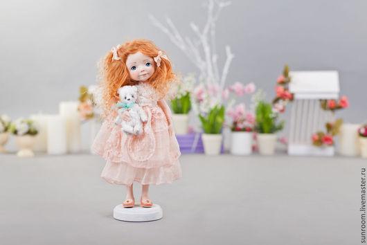 Коллекционные куклы ручной работы. Ярмарка Мастеров - ручная работа. Купить Моя крошка. Handmade. Бледно-розовый, нежно-розовый