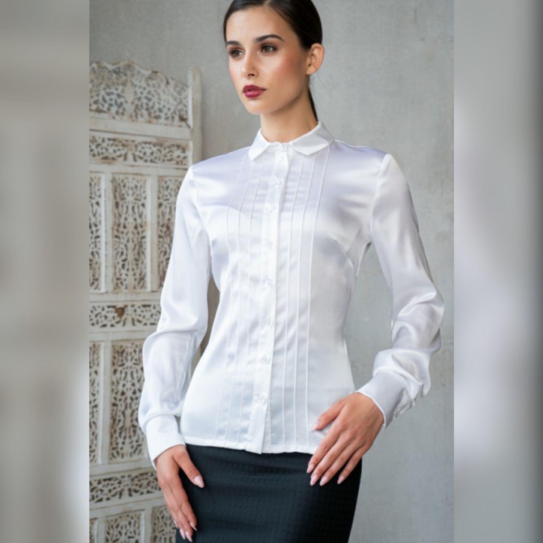 Блузка белая, Блузки, Москва,  Фото №1