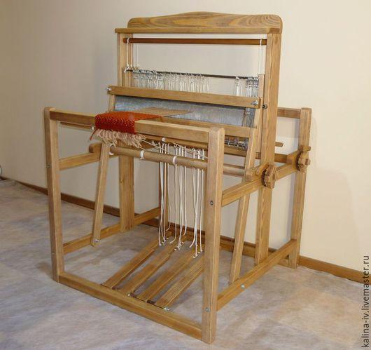 Другие виды рукоделия ручной работы. Ярмарка Мастеров - ручная работа. Купить ткацкий станок 4-ремизный напольный. Handmade.