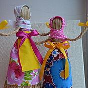 Куклы и игрушки ручной работы. Ярмарка Мастеров - ручная работа Чучело маленькое на Масленницу. Handmade.