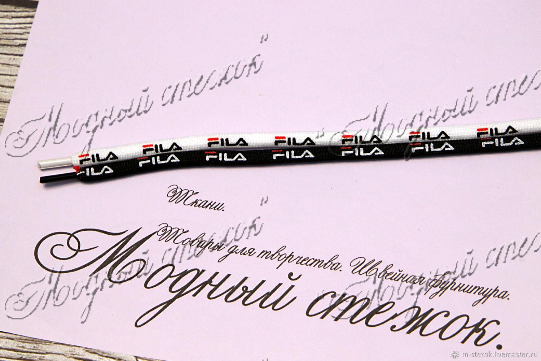 Шнурки круглые с металическими кончиками, Шнуры, Раменское,  Фото №1