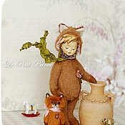 Куклы и игрушки handmade. Livemaster - original item Le Petit Prince.  The tale of the little Prince. teddy-doll. Handmade.