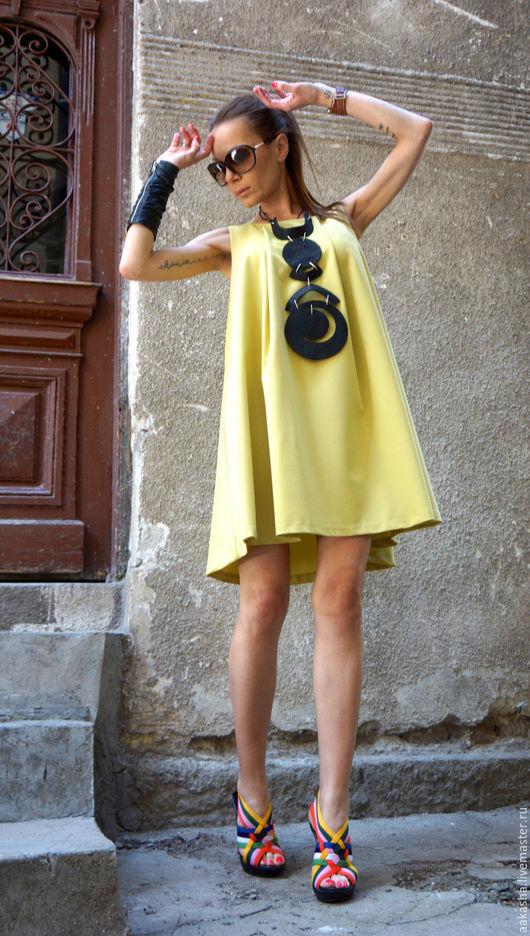 Короткое яркое платье для лета.Платье для вечеринки или прогулки на каждый день или на мероприятие