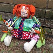 """Куклы и игрушки ручной работы. Ярмарка Мастеров - ручная работа """"на любовь-морковь)))"""". Handmade."""
