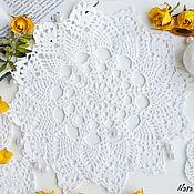handmade. Livemaster - original item Openwork doily crochet. Handmade.