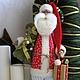 Куклы Тильды ручной работы. Ярмарка Мастеров - ручная работа. Купить Санта Клаус. Дед Мороз.. Handmade. Санта клаус