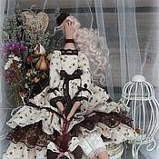 Куклы и игрушки ручной работы. Ярмарка Мастеров - ручная работа Кукла в стиле Тильда.Мадмуазель Миранда. Handmade.