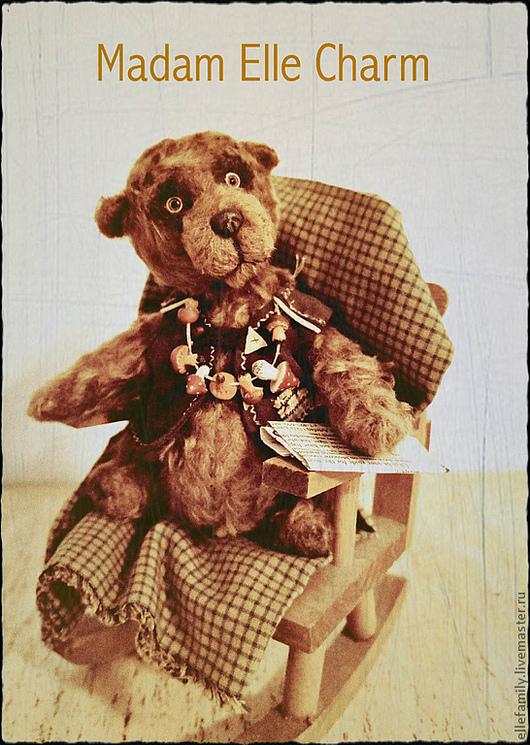 Мишки Тедди ручной работы. Ярмарка Мастеров - ручная работа. Купить Тедди мишка Потап. Handmade. Мишка, мишки тедди