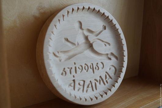 Кухня ручной работы. Ярмарка Мастеров - ручная работа. Купить Пряничная доска из дерева Капоэйра. Handmade. Пряник, форма для печенья