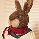 Мишки Тедди ручной работы. Ярмарка Мастеров - ручная работа. Купить Мистер Кроль, Кролик по технологии Тедди. Handmade. Кролик