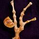 """Статуэтки ручной работы. Ярмарка Мастеров - ручная работа. Купить """"Игра"""" (композиция из дерева). Handmade. Коричневый, игра, древесина"""