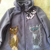 Одежда handmade. Livemaster - original item Jacket Polartec