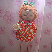 """Куклы и игрушки ручной работы. Ярмарка Мастеров - ручная работа Кукла- подвеска """"Маняша"""". Handmade."""