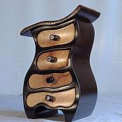 Для дома и интерьера ручной работы. Ярмарка Мастеров - ручная работа Мини комодик. Handmade.