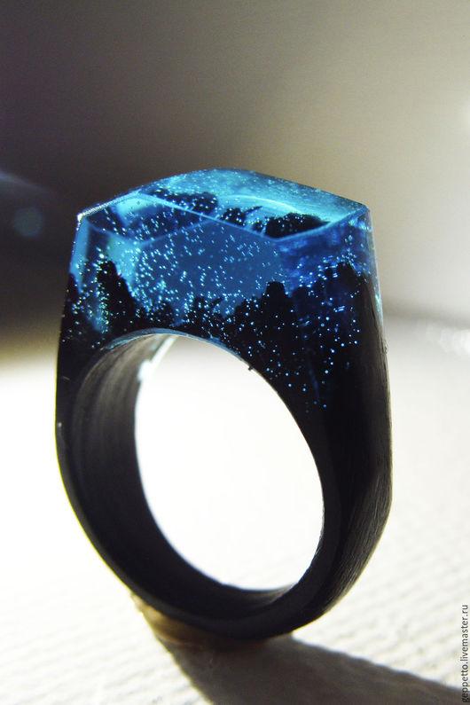 Кольца ручной работы. Ярмарка Мастеров - ручная работа. Купить Деревянное кольцо  Тишина. Кольцо из дерева.. Handmade. кольцо для девушки