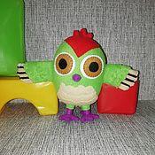 Куклы и игрушки handmade. Livemaster - original item Woodpecker Knock knock. Handmade.