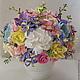 """Цветы ручной работы. Ярмарка Мастеров - ручная работа. Купить Букет """"Лавандовая весна"""". Handmade. Букет из полимерной глины"""
