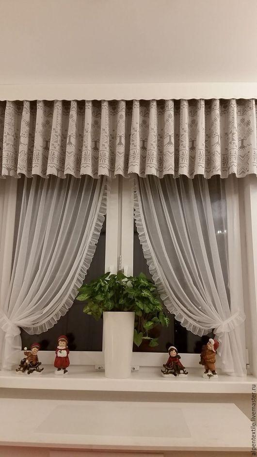 Текстиль, ковры ручной работы. Ярмарка Мастеров - ручная работа. Купить Ламбрекен из гобелена. Handmade. Портьеры, интерьер, занавесь