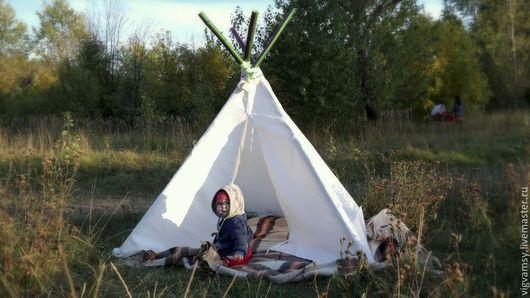 любой вигвамс можно дополнить такими настоящими индейскими аксессуарами как бамбуковый тирли, тотем или ловец снов!