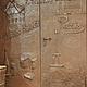 Элементы интерьера ручной работы. Ярмарка Мастеров - ручная работа. Купить дверь. металлизация. Handmade. Панно, панель, бронза, патина