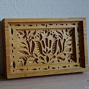 Для дома и интерьера handmade. Livemaster - original item Gingerbread boards of wood Tulips. Handmade.