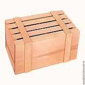 Материалы для творчества handmade. Livemaster - original item 251413,5 L box blank for packing Christmas tree balls. Handmade.