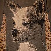 Одежда ручной работы. Ярмарка Мастеров - ручная работа Джемпер с собачкой. Handmade.