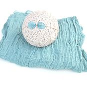 Сувениры и подарки handmade. Livemaster - original item Winding for a photo shoot newborn meditates, wearing a bow. Handmade.