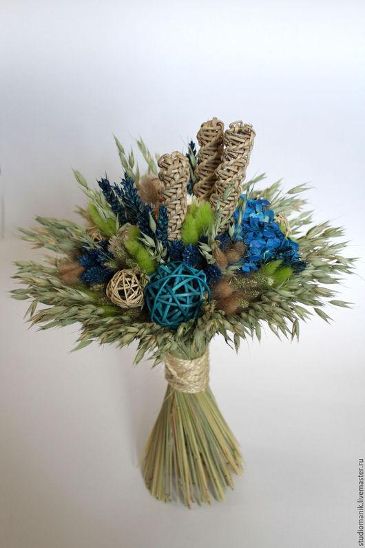 Букеты ручной работы. Ярмарка Мастеров - ручная работа. Купить Букет из сухоцветов. Handmade. Комбинированный, сухоцветы, букет, букет из сухоцветов