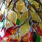 Для дома и интерьера ручной работы. Ярмарка Мастеров - ручная работа Фьюзинг. Потолочный светильник. Handmade.