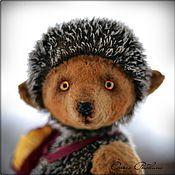 Куклы и игрушки handmade. Livemaster - original item hedgehog Teddy Fallen leaf. Handmade.