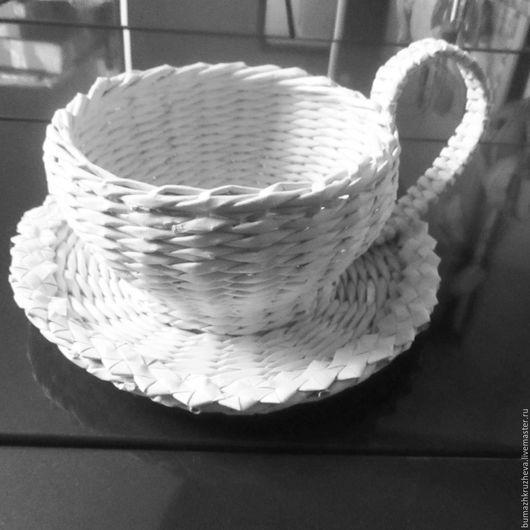 Шкатулки ручной работы. Ярмарка Мастеров - ручная работа. Купить Плетеные изделия из бумажной лозы.. Handmade. Плетение, хлебница