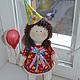 Коллекционные куклы ручной работы. Кукла  малышка. Лариса Макарова. Интернет-магазин Ярмарка Мастеров. Кукла малышка, хлопок